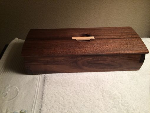 Custom Made Decorative Box For Keepsakes Or Jewelry, In Various Wood Options
