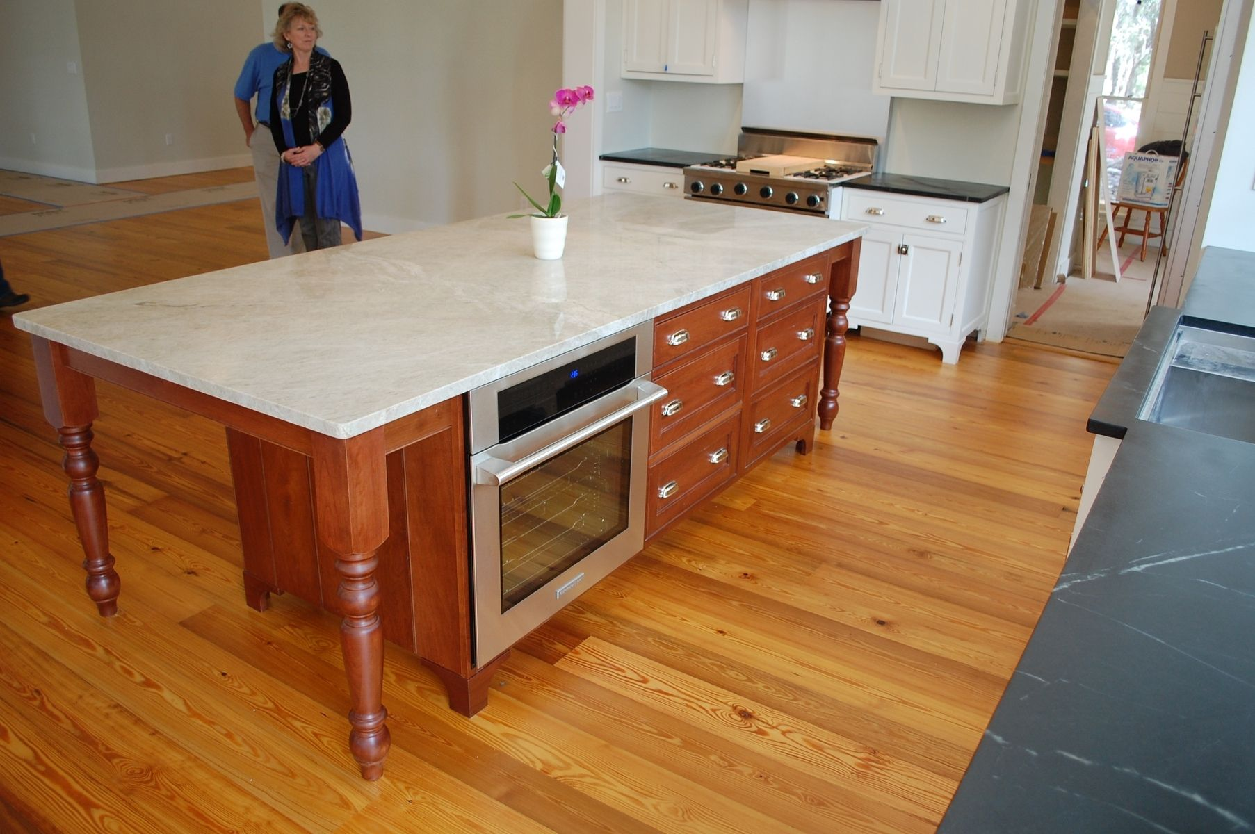 kitchen island cherry crafted cherry kitchen island by gleman amp sons custom 13431