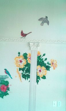 Custom Made Freehand Airbrushed With Soft Features Custom Home Murals