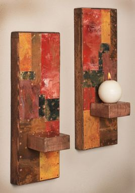 Custom Made Copper And Metal Sconces