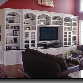 Custom Built Wall Units & Custom Made Built In TV Wall Units ...