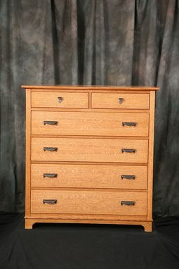 Custom Made Dresser - Quartered White Oak