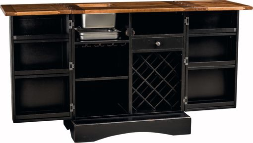 Custom Made Napa Wine Serving Bar