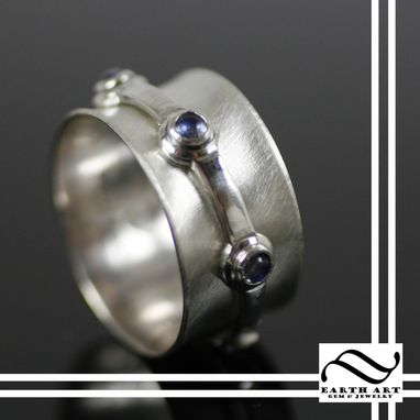Custom Made Gemstone Spinner Ring