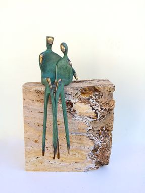 Custom Made Forever Us, Bronze Sculpture Couple