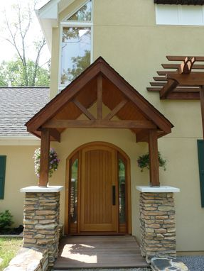 Custom Made Front Entrance