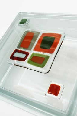 Custom Made Glass Tile Blocks