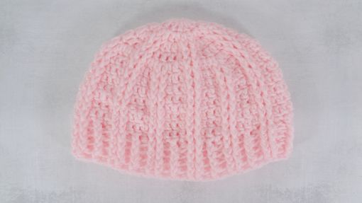 f10776abad221 Baby Pink Winter Beanie Hat Skull Cap Light Pink One Size Fits Most Gift  For Her Boho Beanie