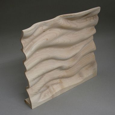 Custom Made Turbulent Waters #12 Wood Sculpture