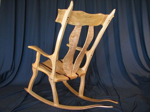 Custom Made Exotic Rocking Chairs