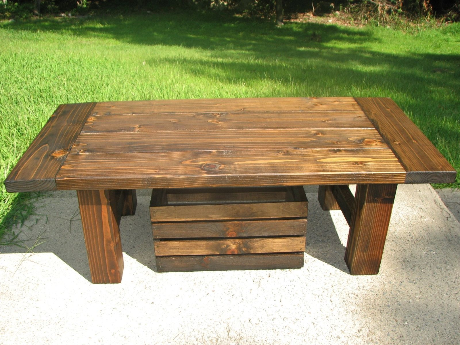 Buy a Handmade Country Coffee Table made to order from Custom