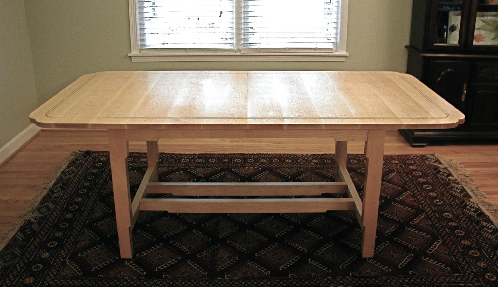 Hand Crafted Maple Dining Table by Hand Made Furniture ...