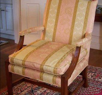 Custom Made Upholstered Arm Chair