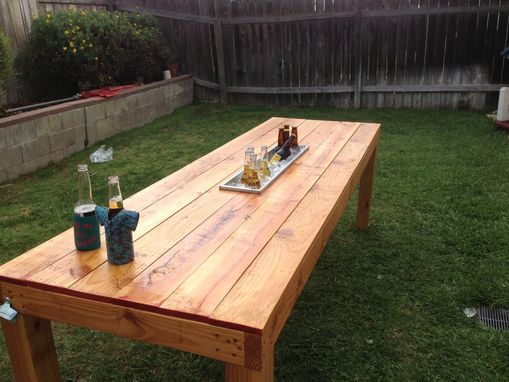 Custom Made Party Outdoor Table