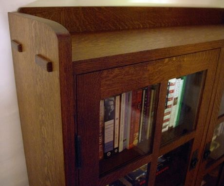 Custom Made Arts & Crafts Bookcase