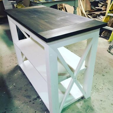 Custom Made Kitchen Island / Chopping Station