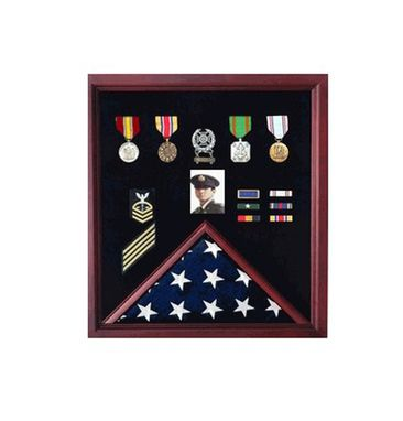 Custom Made Personalized Flag Display Case
