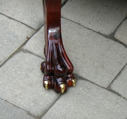 Custom Made Mahogany