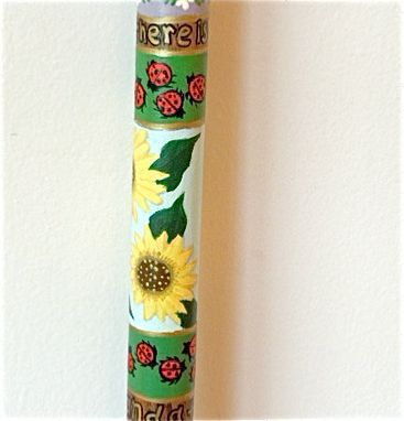 Custom Made Custom Hand Painted Four Seasons Puzzle Cane