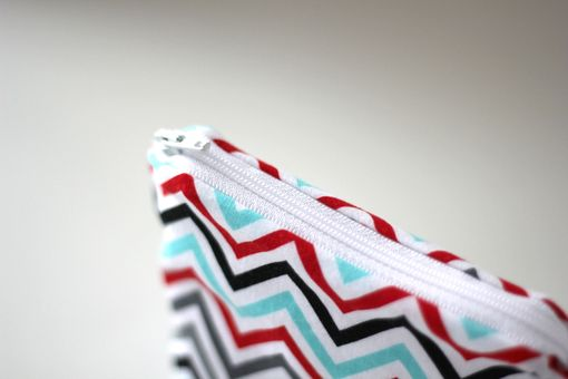 Custom Made Mini Gusseted Messy Bags (Snack Bags) - Zigzag Celebration