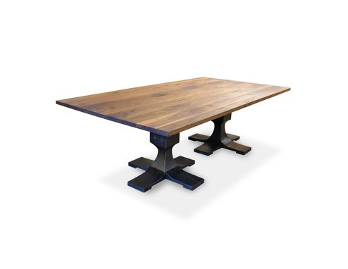 Custom Made Modern Pedestal Table