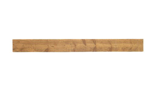 Custom Made Reclaimed Wood Fireplace Mantel - 81 Inch Industrial Sawn (Storiedboards) #160008r