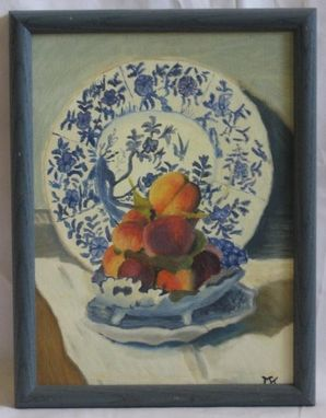 "Custom Made Claude Monet ""Still Life With Melon"" Art"