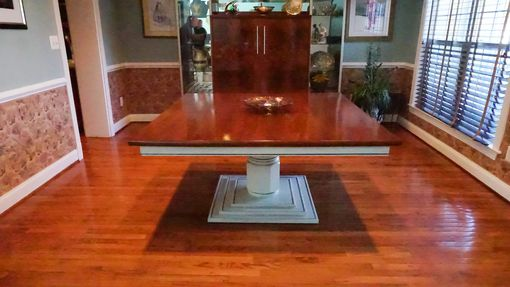 Custom Made 5 X 5 Ft. Dining Table