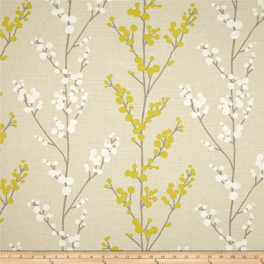 Custom Made Richloom Evelynne In Lemongrass Grey Gray Yellow Custom Curtain Panels 63l X 50w