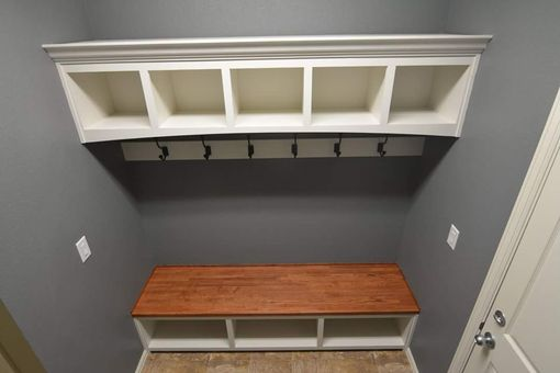 Custom Made Mudroom Cabinets