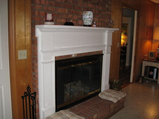Custom Made Fire Place Mantel