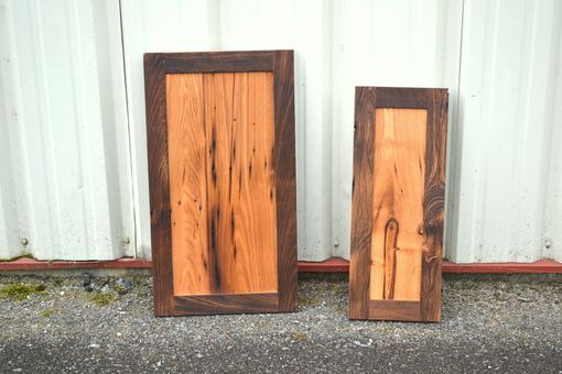Custom Made Reclaimed Chestnut Cabinet Doors