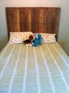 Custom Made Pallet Headboard