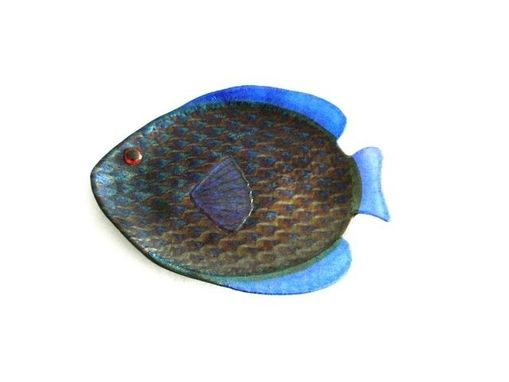 Custom Made Fused Glass Fish Dish
