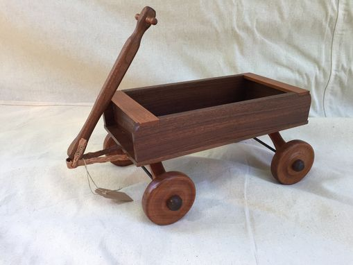 Custom Made A Small Wheel Wagon