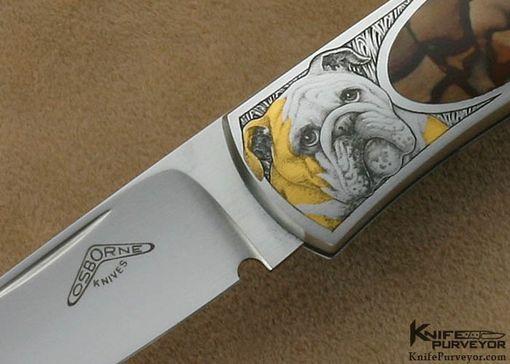 Hand Crafted Warren Osborne Custom Knives 001 Biggs