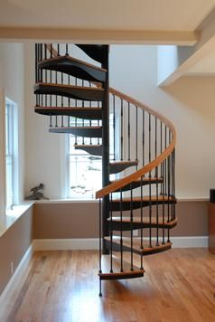 Custom Forged Iron Spiral Stair By Salter Spiral Stair