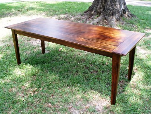 Custom Made Reclaimed Wood, Acadian-Style Tables (Cypress)