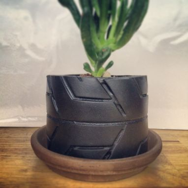 Custom Made Tire Pots