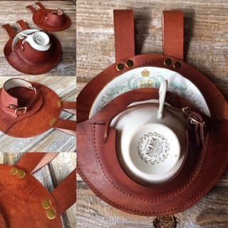 Custom Made Steampunk Tea Cup Holster
