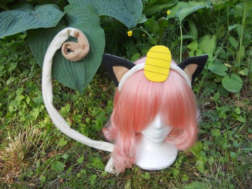 Custom Made Meowth Cosplay Set
