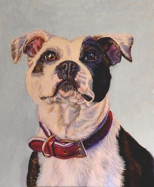 Custom Made Custom Oil Painting ~ Dog Portrait Hara