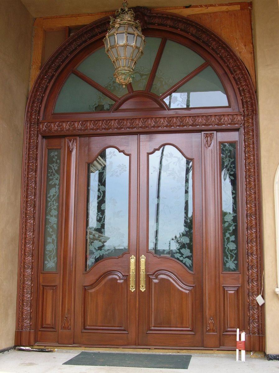 Handmade Custom Entry Door By Hercules Custom Furniture