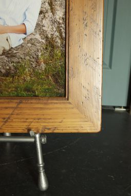 "Custom Made 4"" Wide Pine Picture Frame"