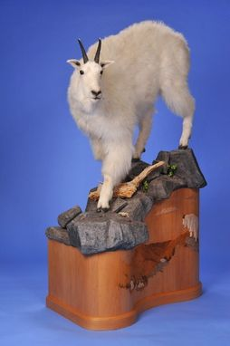 Custom Made Goat Pedestal