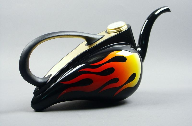 Hand Made Fantasy Teapots By Mirabelli Designs
