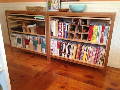 Custom Made Bookcase Winerack