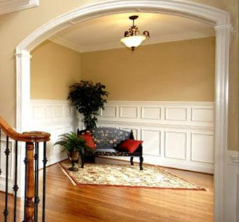 Custom Made Curved Archway Molding