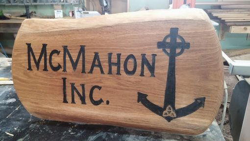 Custom Made Custom Engraved Sign.