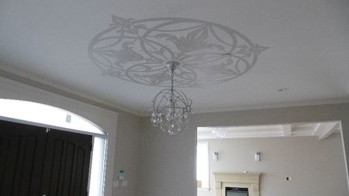 Custom Made Custom Designed Ceiling Medallion